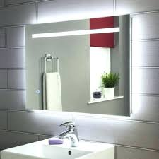 Battery Operated Bathroom Mirrors Led Bathroom Mirrors Battery Powered Northlight Co