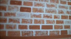 diy how to make faux brick wall first video youtube