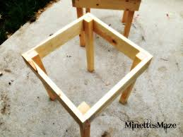 Homemade Patio Furniture Plans by Triyae Com U003d Backyard Table Diy Various Design Inspiration For