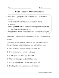 englishlinx com clauses worksheets