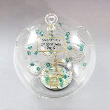 birthstone ornament baby s christmas ornament birthstone ornament with