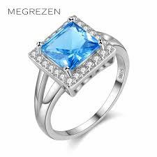 large ladies rings images Buy megrezen ladies wedding rings jewelry silver jpg