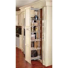 Kitchen Cabinet Slide Out Shelf by Tall Pantry Pull Out System Kitchensource Pinterest