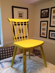 yellow chair blue the diy chalk paint adventure continues this