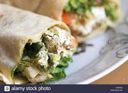 arabic wrap sandwich stock photo 103336452 alamy