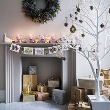 Living Room White Christmas Decorations by Christmas Living Room Ideas Christmas Living Rooms Modern