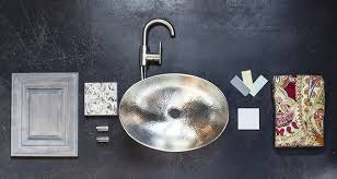 hammered nickel bathroom sink sinkology sb305 19n hobbes 19 inch above counter vessel sink