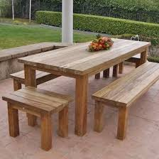 adorn your garden with the new range of outdoor wood furniture