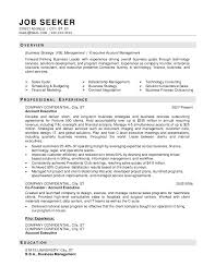 Example Business Resume by Resume Examples Objectives Sales Templates