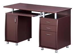 techni mobili complete workstation computer desk with storage Desk With Computer Storage
