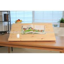 angle adjustable side desk red pine 800 made of red pine tree