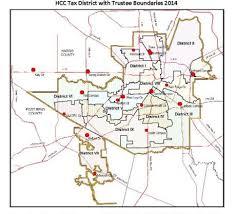 houston map districts district maps houston community college hcc