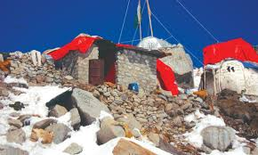 Flag Of Pakistan Pic Siachen The Place Of Wild Roses Pakistan Dawn Com