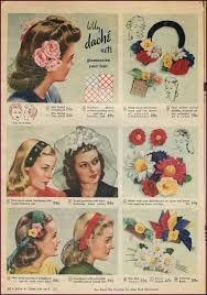 1940s hair accessories 1940s vintage hair accessories 4 authentic styles 1940s