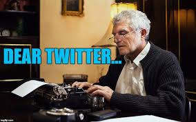 Typewriter Meme - i wonder if he got a reply imgflip