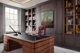 british furniture maker smallbone unveils new desk and wine wall