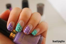 beautifying life nails cute polka dots inspired by