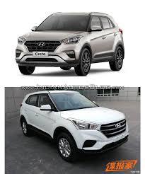 hyundai jeep models brazilian hyundai creta vs hyundai creta facelift from china