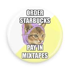 Hipster Kitty Meme - enter coffee shop stay all day hipster kitty advice animals internet