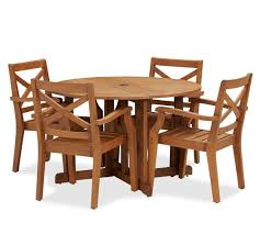 Folding Dining Room Chair by Dining Room Elegant Hampstead Teak Round Drop Leaf Table Chair Set