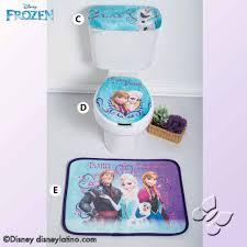 disney frozen elsa princess anna bathroom rug set shower
