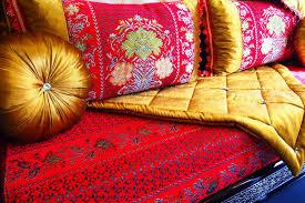 deco salon marocain banquette salon marocain pas cher indogate com accessoire salle