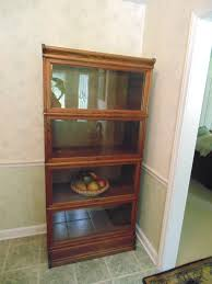 Ebay Bookcase by Antique 4 Section Oak Barrister Stacking Lawyers Bookcase Ebay