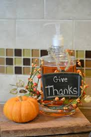 diy thanksgiving soap dispenser