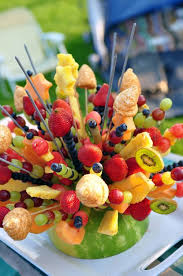 eatables arrangements d i y fruit arrangements an easy inexpensive summer treat