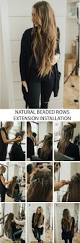 So Cap Hair Extensions Before And After by Beaded Hair Extensions Installation Dani Marie Blog