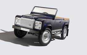 new land rover defender 2016 2016 new land rover defender pedal car concept garage car