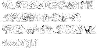 animal letters 3 artistmike com