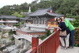 haedong yonggung temple busan south korea the flying hanbok