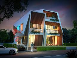 Row House Model - 3d township visualization high quality u2013 3d high quality rendering