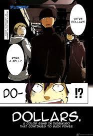 Durarara Meme - durarara chap 8 manga reader