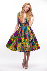 colorful dress assanssan colorful dress my touch of africa