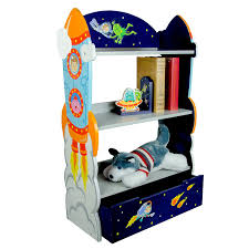 Book List Books For Children My Bookcase Fields Outer Space Thematic Wooden Bookcase
