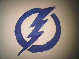 How To Draw The Tampa Bay Lightning Logo Youtube