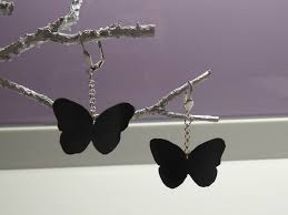 bijoux en chambre a air papillons du soir relookage et recycling