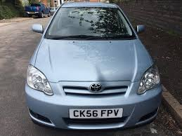 toyota corolla 1 4 vvt i colour collection 5dr 12 months mot
