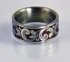 can titanium rings be engraved titanium ring david sheehan engraver