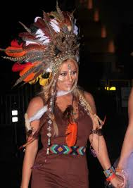 Womens Pocahontas Halloween Costumes Hollywood Halloween 1 Attack Cliché Costumes