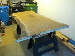 Walnut Slab Table by Slab To Table In Seven Days