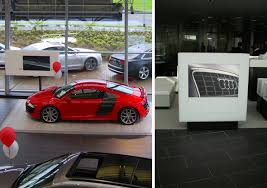 audi digital showroom showroom displays screen media technology ltd
