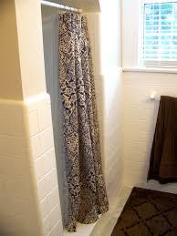 Stand Up Shower Curtains Unique Stall Size Shower Curtains 35 Photos Gratograt