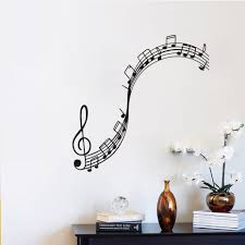 music notes diy wall sticker music classroom cute pattern wall music notes diy wall sticker music classroom cute pattern wall decals musical instrument decoration boys girls room decor in wall stickers from home