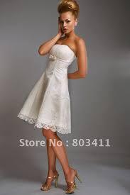 Knee Length Wedding Dresses Promotion Freeshipping Sheath Full Sleeve Knee Length Short Lace