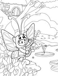 butterfly coloring page handipoints