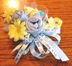baby sock corsage baby sock corsage handmade baby sock shower corsage baby