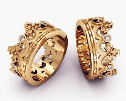 crown rings jewelry images Jewels crown ring diamond gold king queen jewelry jewelry rings jpg
